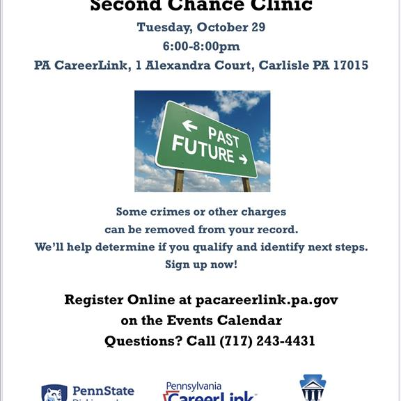 Second Chance Clinic 10/29/2019